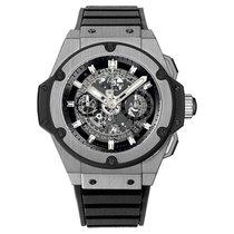 Hublot King Power Unico 48mm Automatic Titanium Mens Watch Ref...