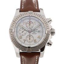 Breitling Super Avenger 48 Chronometer White Dial