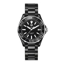 TAG Heuer Aquaracer 35mm Date Quartz Ladies Watch WAY1390.BH0716