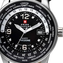 Swiss Military SM34007.03 GMT-Worldtimer 41mm 5ATM