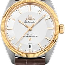 Omega 130.23.39.21.02.001 Gold/Steel 2021 Globemaster 39mm new United States of America, New York, Airmont