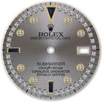 Rolex Submariner Grey Serti Diamond Sapphire Dial
