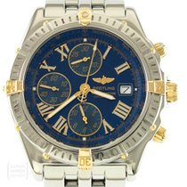 Breitling Uhr Crosswind Chronomat Edelstahl/Gold Revision Ref....