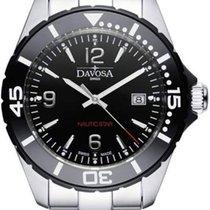 Davosa Nautic Star Steel 43.5mm Black