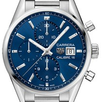 TAG Heuer Carrera Calibre 16 Steel 41mm Blue United States of America, New York, Airmont