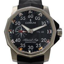 Corum 48mm Automatico usato Admiral's Cup Competition 48 Nero