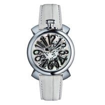 Gaga Milano 40mm Quartz new Mother of pearl