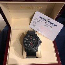 Ulysse Nardin Diver Chronometer Steel 42,7mm Black No numerals