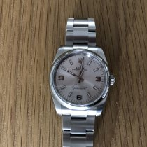 Rolex Oyster Perpetual 34 Aluminium 34mm Argent Arabes France