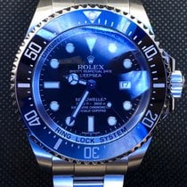 Rolex Sea-Dweller Deepsea Steel 44mm Black No numerals United States of America, New York, Troy