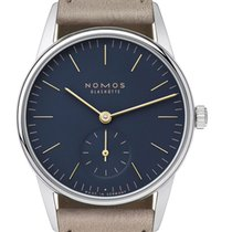 NOMOS Orion 33 Steel 32.8mm Blue