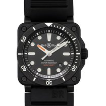 Bell & Ross BR 03-92 Ceramic BR0392-D-BL-CE/SRB new