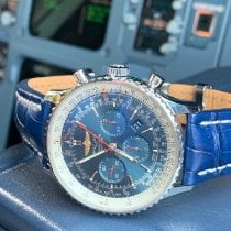 Breitling Navitimer 01 (46 MM) Steel 46mm Blue Roman numerals United States of America, Florida, St. Petersburg