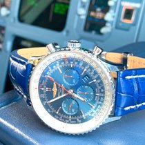 Breitling Navitimer 01 (46 MM) Steel 46mm Blue Roman numerals United States of America, Florida, St. Petersburg