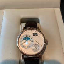 A. Lange & Söhne Grand Lange 1 Rose gold 41mm Silver Roman numerals United States of America, Florida, Delray Beach