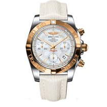 Breitling Chronomat 41 Steel 41mm Mother of pearl No numerals