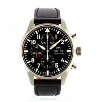 IWC Pilot Chronograph IW377709 Oanvänd Stål 43mm Automatisk