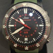 Sinn U2 Steel 44mm Black No numerals