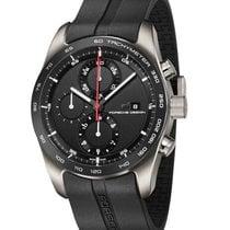Porsche Design Chronotimer Titanyum 42mm Siyah