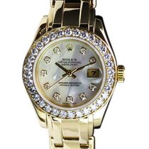 Rolex Lady-Datejust Pearlmaster 29mm Mother of pearl