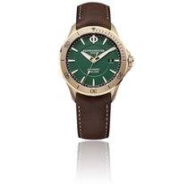Baume & Mercier Bronze Automatic Green 42mm new Clifton