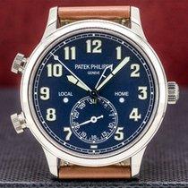 Patek Philippe Travel Time Or blanc 42mm Arabes