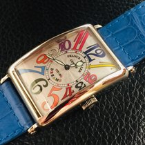 Franck Muller White gold Automatic Silver Arabic numerals 32mm pre-owned Color Dreams