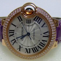 Cartier Ballon Bleu 33mm new Automatic Watch with original box and original papers WE902036