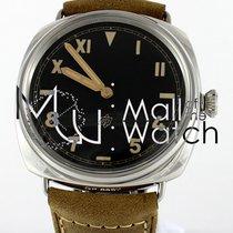 Panerai Radiomir 3 Days 47mm nieuw Handopwind Horloge met originele doos en originele papieren PAM00424