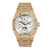Audemars Piguet AP Royal Oak Perpetual Calendar Moonphase 18K...