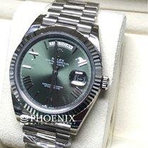 勞力士 (Rolex) Day-Date 40 green roman