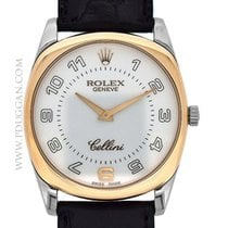 Rolex 18k rose gold and white gold Cellini Danaos