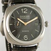 Panerai Radiomir 8 Days Titanium 45mm Black Arabic numerals