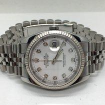 Rolex Datejust dial diamond white