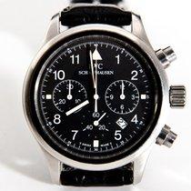 IWC Pilot Flieger Chronograph Black Dial - 3741001