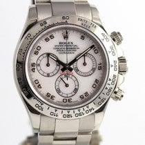 Rolex Daytona White Gold 116509 Mother of Pearl Dial+