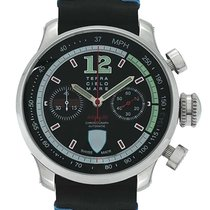 Terra Cielo Mare Ascari Indy Stainless Steel Chronograph Men's...