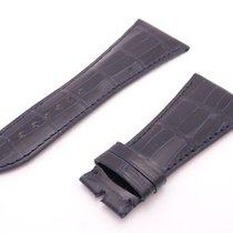 Chopard Alligator Black Leather Watch Strap Band 31mm x 20mm