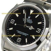 Rolex Explorer 1 Steel Case Bracelet Oyster Black Dial 36mm...