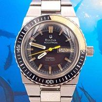 Bulova Accutron Snorkel 666 Feet Diver 1 Year Warranty