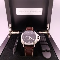 Panerai Luminor 1950 3 Days GMT Automatic pre-owned 44mm Steel