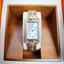Hermès 20mm 2000 pre-owned Cape Cod Mother of pearl