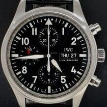 IWC Chronographe 42mm Remontage automatique occasion Pilot Chronograph Noir
