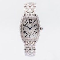 Franck Muller White gold 25mm Quartz 1752 QZ D pre-owned United Kingdom, Guildford,Surrey