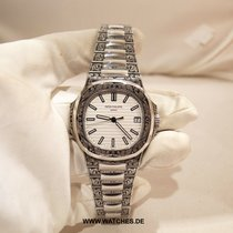 "Patek Philippe Nautilus "" Kindler & Thorpe Engraving""  White..."