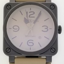 Bell & Ross BR 03 Ceramic 42mm Champagne Arabic numerals