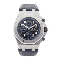 Audemars Piguet 26470ST.OO.A028CR.01 Staal 2010 Royal Oak Offshore Chronograph 42mm tweedehands