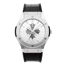Hublot Classic Fusion Ultra-Thin Platinum 45mm Silver No numerals United States of America, Pennsylvania, Bala Cynwyd