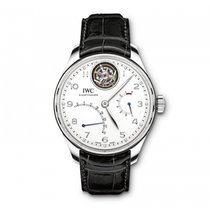IWC Portuguese Tourbillon Platinum 44.2mm Silver United States of America, Florida, Miami