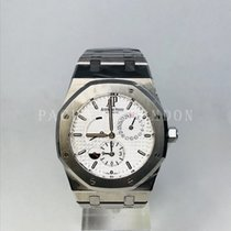 Audemars Piguet 26120ST.OO.1220ST.01 Steel 2016 Royal Oak Dual Time 39mm pre-owned United Kingdom, London